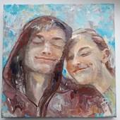 Портрет Влюбленных(Игорь и Линнея)